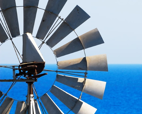 Многолопастные ветровые установки 07