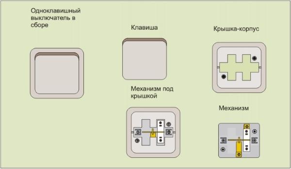 Подключение выключателя 03