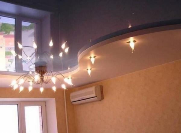 Освещение потолка 04