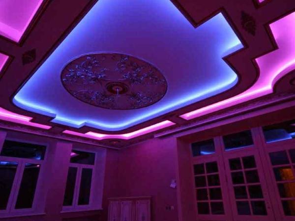 Освещение потолка 05