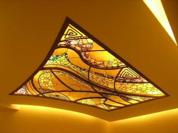 Освещение потолка 07