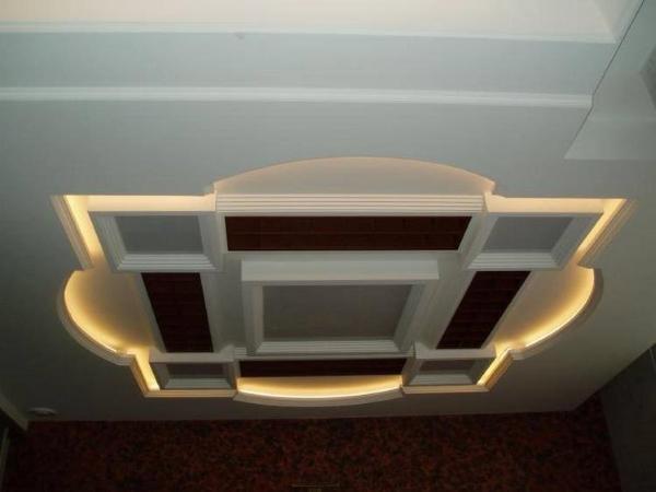 Освещение потолка 10