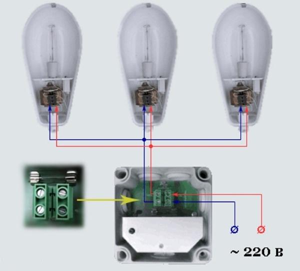 быть, фотореле для светодиодного светильника запчастей