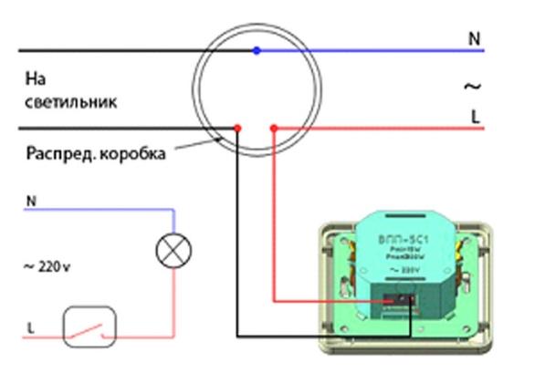Как подключить диммер 02