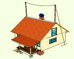 Молниезащита дома_100