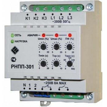 схема подключения реле контроля фаз