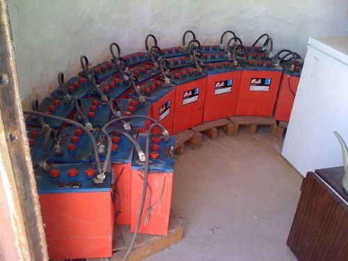 Аккумуляторы для солнечных батарей 02