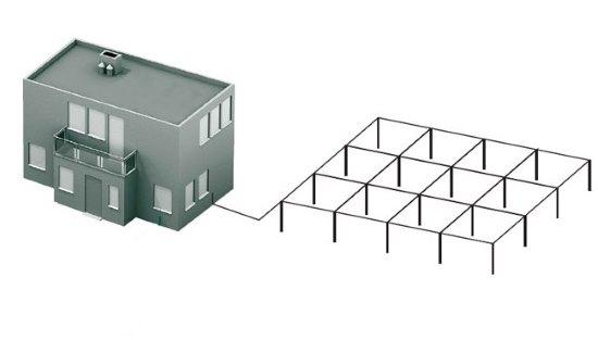 Горизонтальный контур заземления дома