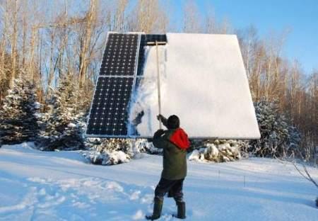 Установка солнечных батарей 03