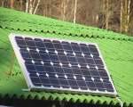 Установка солнечных батарей 100