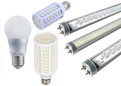 Виды светодиодных ламп 02