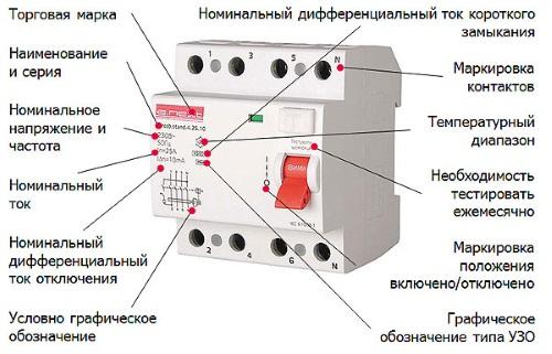 Обозначение автоматических выключателей 04