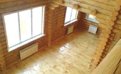 Отопление деревянного дома батареями