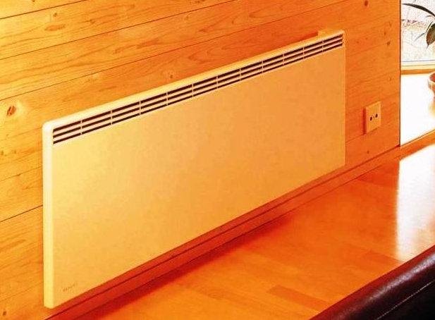 Отопление деревянного дома электроконвекторами
