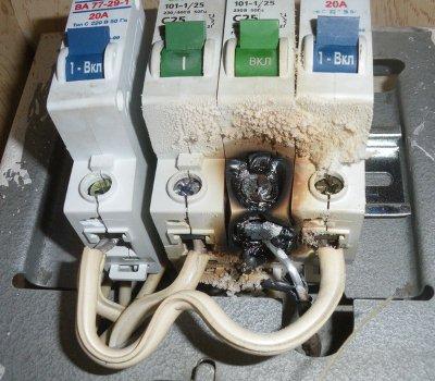 Ремонт автоматических выключателей 0 4 кв