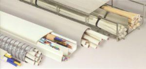 Пример прокладки кабелей