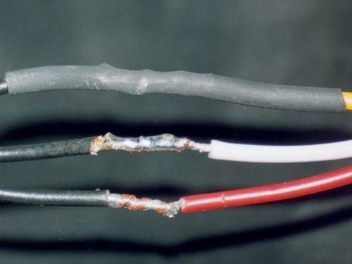 Способ изоляции термотрубкой