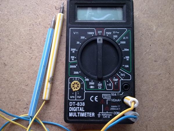 Мультиметр DT - 838 DIGITAL