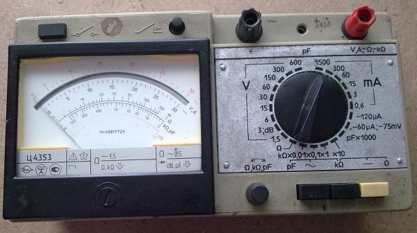 Тестер Ц4353 советских времен