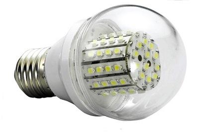 Дешевая светодиодная лампа без радиатора