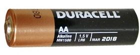 Пальчиковая батарейка Duracell