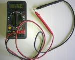 как прозвонить провода мультиметром 100