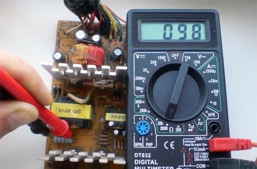 Проверка резисторов на плате не выпаивая