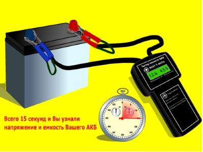 SKAT-T-AUTO тестер аккумуляторов