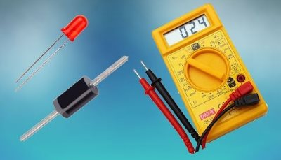 Как проверить диод мультиметром 01