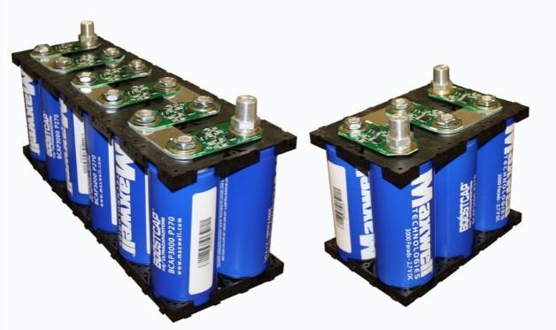 Суперконденсаторов Maxwell для автомобилей