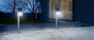 Виды светодиодных светильников на улицу