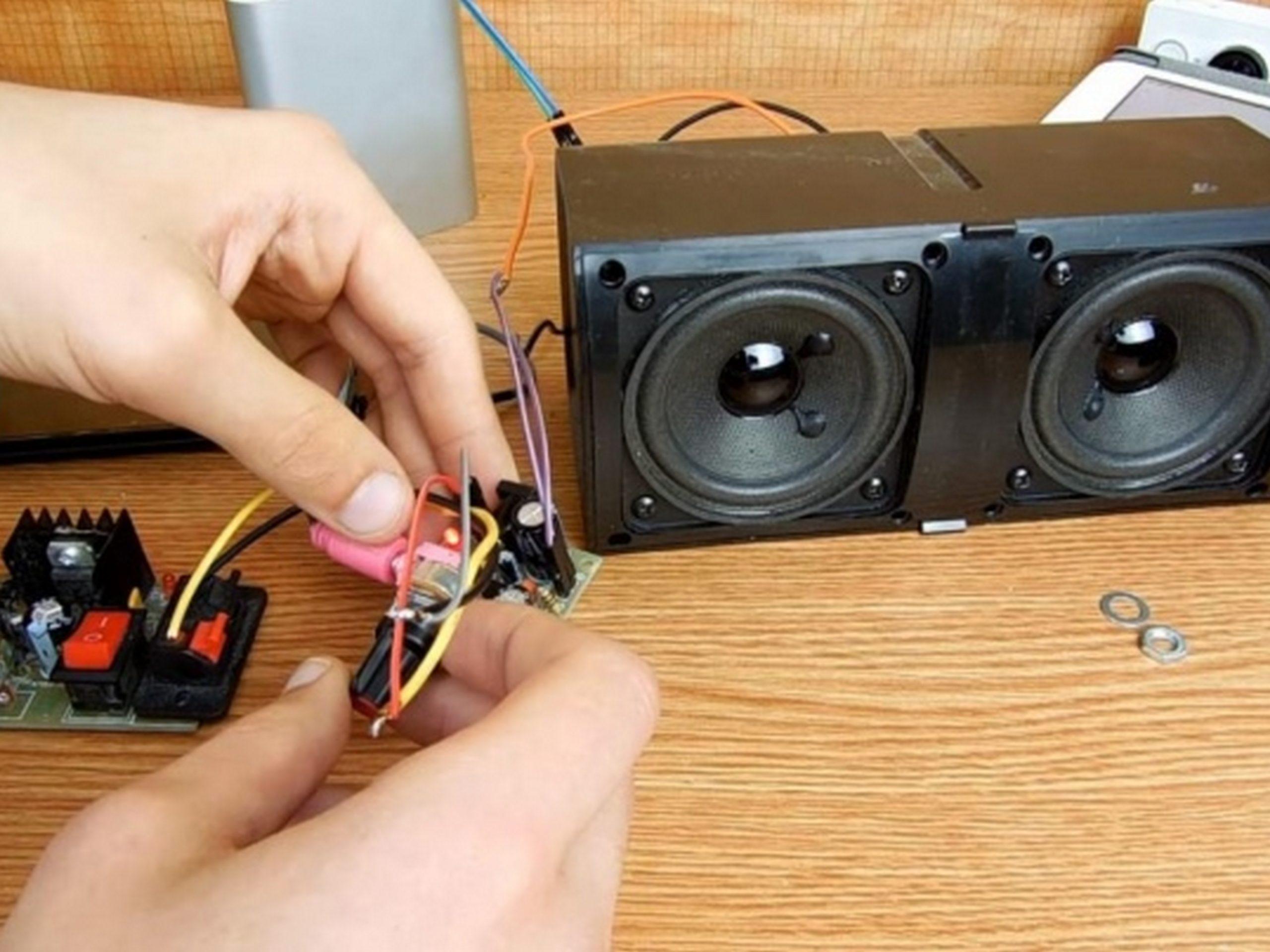 Усилитель звука для колонок своими руками — экономный способ обзавестись полезным устройством