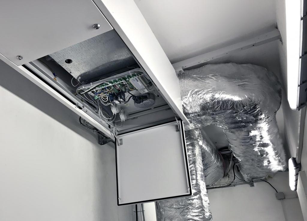 Интеграция систем автоматизации в системы вентиляции, автоматизация технологических процессов.