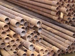 Использование бывших в употреблении труб для различных нужд