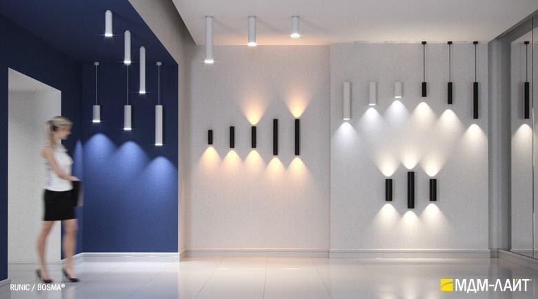 Накладные светильники: где применяют в интерьере